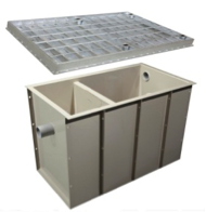 1000lt Grease Trap & Cover