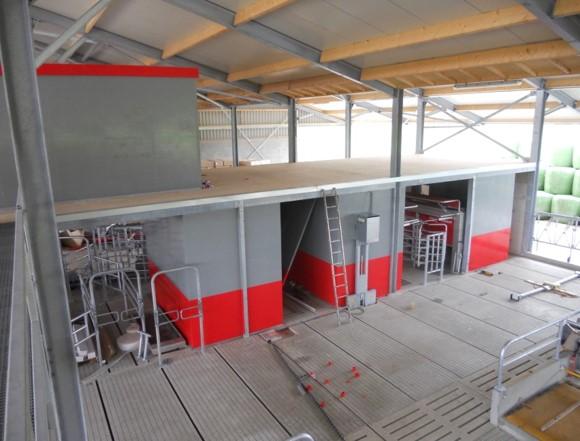 Milking Shed Wall Lining   Dairy Shed NZ   Hugo Plastics