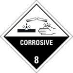 Corrosive Warning