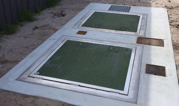 Underground Odour Control system