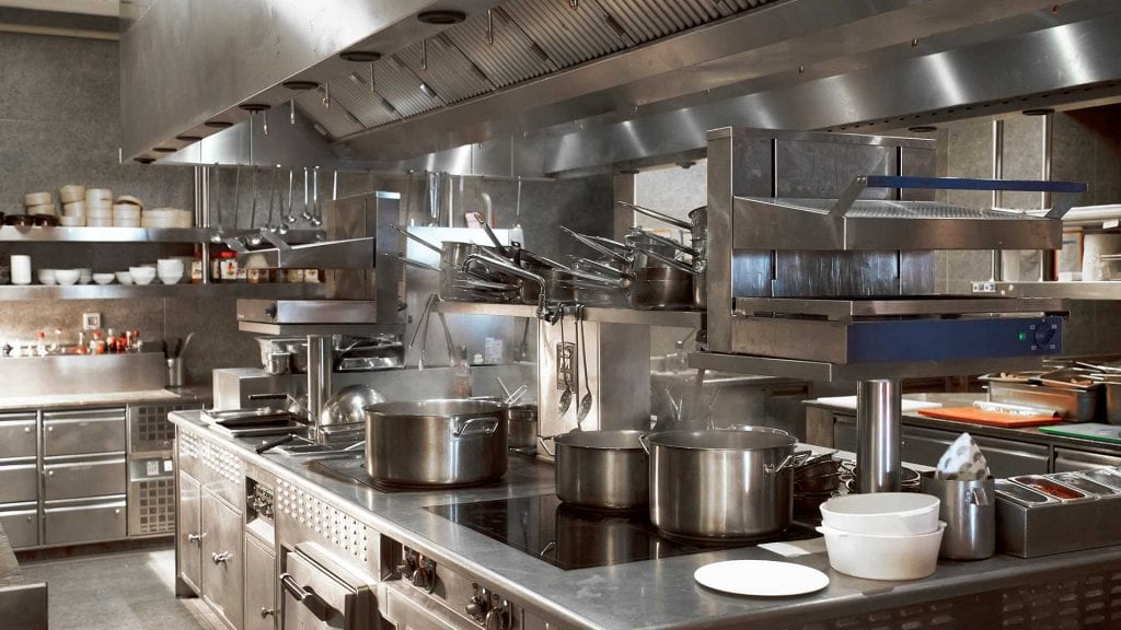 commercial kitchen grease trap